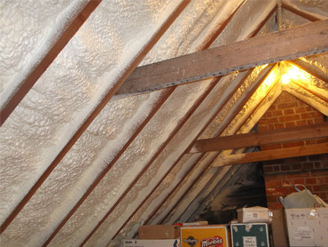 Spray Foam Loft Insulation